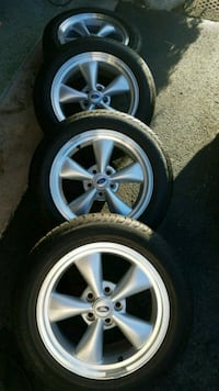 2008 Mustang Wheels in great shape Tires have 36k Volo, 60020