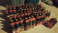 Huge old Coke bottle lot