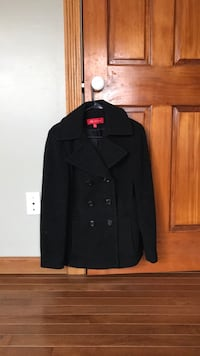 Black double breasted coat Stafford, 22554