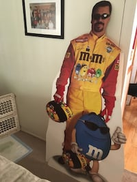 NASCAR Ernie Irvin life size Standup with Box   Cranberry Township, 16066