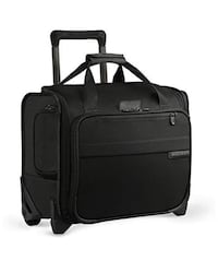 Briggs & Riley Baseline Rolling Cabin Bag, Black, Small Arlington, 22204