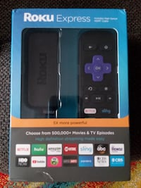 ROKU EXPRESS ( 3900r ) STREAMING MEDIA PLAYER , NEW IN BOX Jacksonville