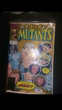 New Mutants 87 Cable 1stAppearance Gautier, 39553