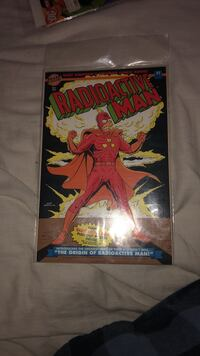 1993  vintage  Simpsons 'Radioactive Man' first  comic released -Origin story Ellicott City, 21042