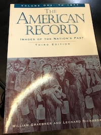 """The American Record"" textbook Norfolk, 23503"