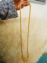 Gold plated chain-long