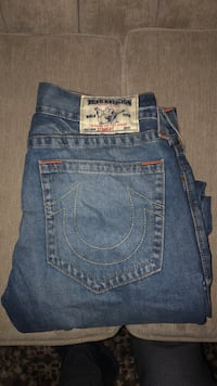 blue True Religion denim bottoms Mississauga, L5W 1H7