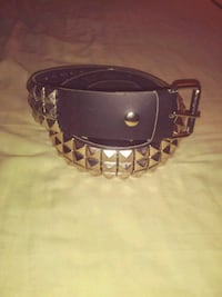 New Real Leather Pyramid Belt Hudson, 34667