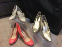 Three pairs of High heel shoes size 6 &7 Toronto, M2J 0A9