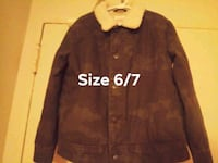 Cat & Jack lined coat, like-new, size 6/7 Woodbridge, 22191