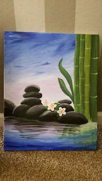 Zen Painting for Spa Richmond, 94806