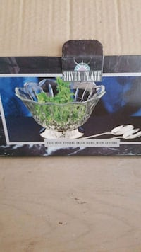 Godinger Full Lead Crystal Serving Salad