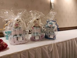 Party Favors, Diaper Cakes and Baskets