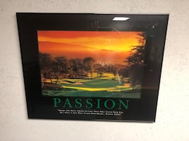 Wall Art Golf Passion Picture