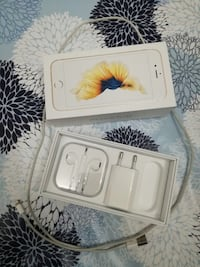 iPhone 6s gold box