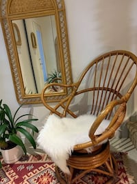 vintage rattan chair Guelph