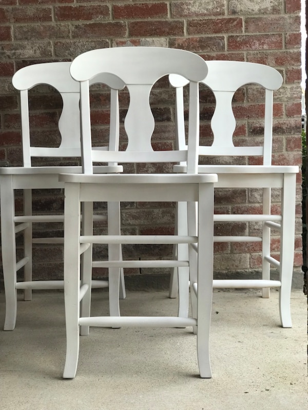 Counter Height 24 Tall White Barstools