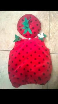 Strawberry costume 9-12 month  Hanover, 17331