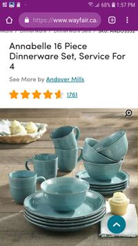 Dishes for Sale - Service for 4 London, N6J 1G1