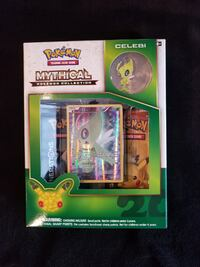 Pokemon TCG Mythical 20th Anniversary Celebi Springfield