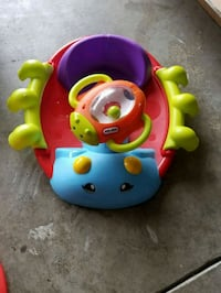 baby's multicolored Fisher-Price learning walker 2296 mi