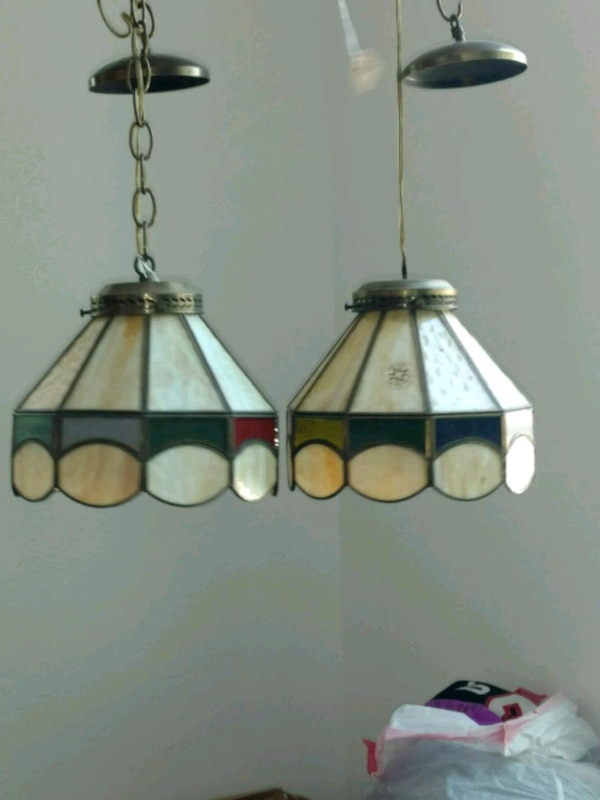 eaf897b00be08 Used black and white pendant lamp for sale in Dallas - letgo