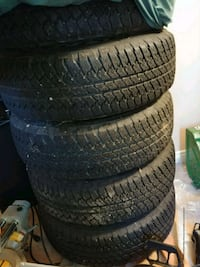 Jeep 18 inch rims/tires London, N6C 2R6