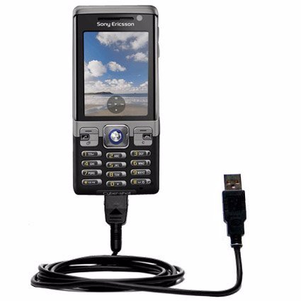 Classic Straight USB Cable for the Sony Ericsson C702 with Power Hot Sync Thessaloniki, Greece