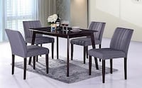 **SEALED IN BOX** Free delivery New 5 pc Dining set