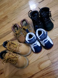 Lot of timbs size 4c and 5c and baby jordans The Bronx, 10452