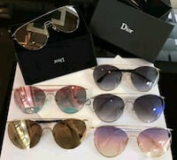 six black-framed Ray-Ban aviator sunglasses Toronto