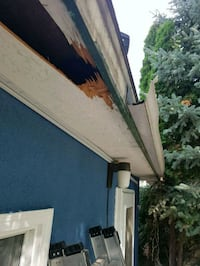 Eavestrough, soffits fascia installation or repair Winnipeg