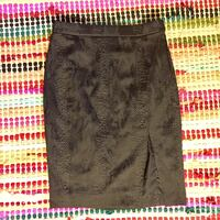 Altuzarra for Target Snakeskin Skirt with Thigh Slit sz 8