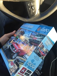 """Puzzle set """"Daves Diner"""" nice puzzle Greenville, 29601"""