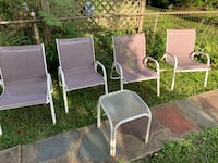 4 patio chairs and small table Bethlehem, 18018