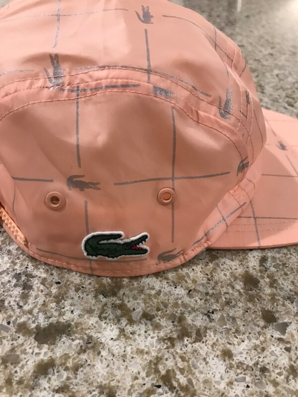 Used Supreme Lacoste hat for sale in Wanaque - letgo 95c06759d592