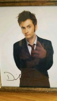Doctor 10 autographed pictured Fort Carson, 80913