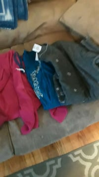 Ladies, sweaters and shirts