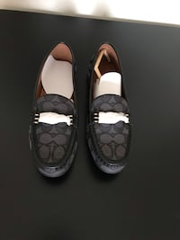 pair of black Coach slip on shoes Vienna, 22182
