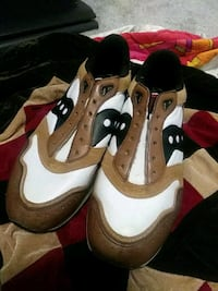 pair of white-and-brown Nike basketball shoes Dayton, 45406