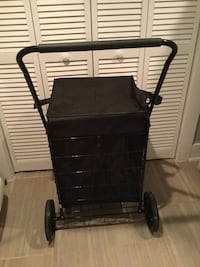 Rolling grocery cart with liner 52 km