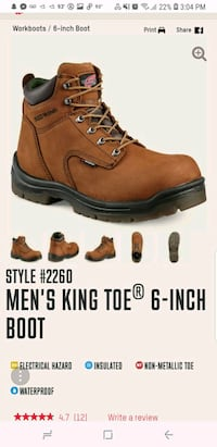 Red Wing boots 9 Elm City, 27822