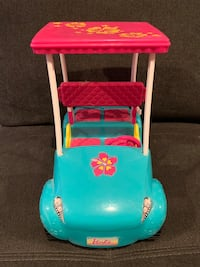 toddler's blue and red ride-on toy 252 mi