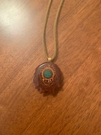 Third Eye  Pinecone necklace