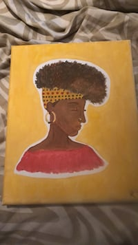 Afrocentric  painting Smyrna, 30082