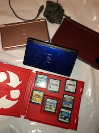 Nintendo Dsi XL, 2 Ds Lites and 7 games Calgary