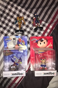 Super smash Bros amiibos