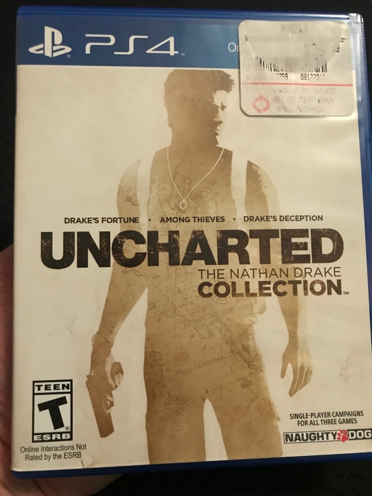 Photo Uncharted the nathan drake collection ps4 game case