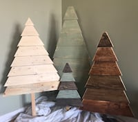 BRAND NEW RUSTIC WOOD TREES LOTS TO CHOOSE FROM! Davison, 48423