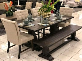 Dining table chairs $39 DOWN